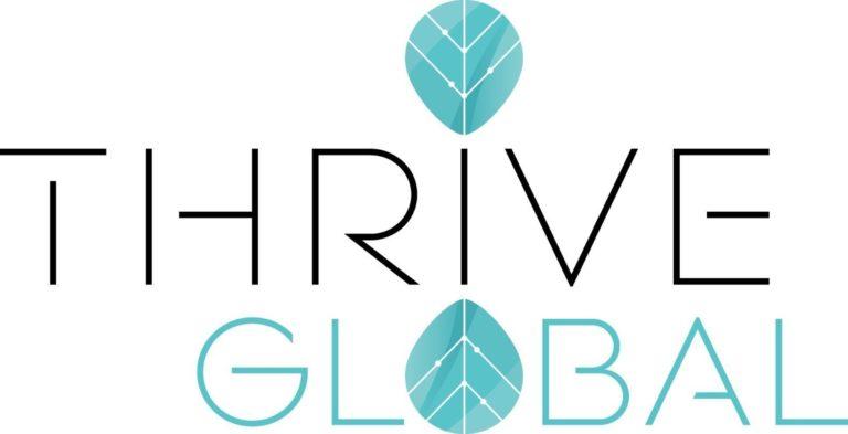 Thrive Global logo (PRNewsFoto/Thrive Global)